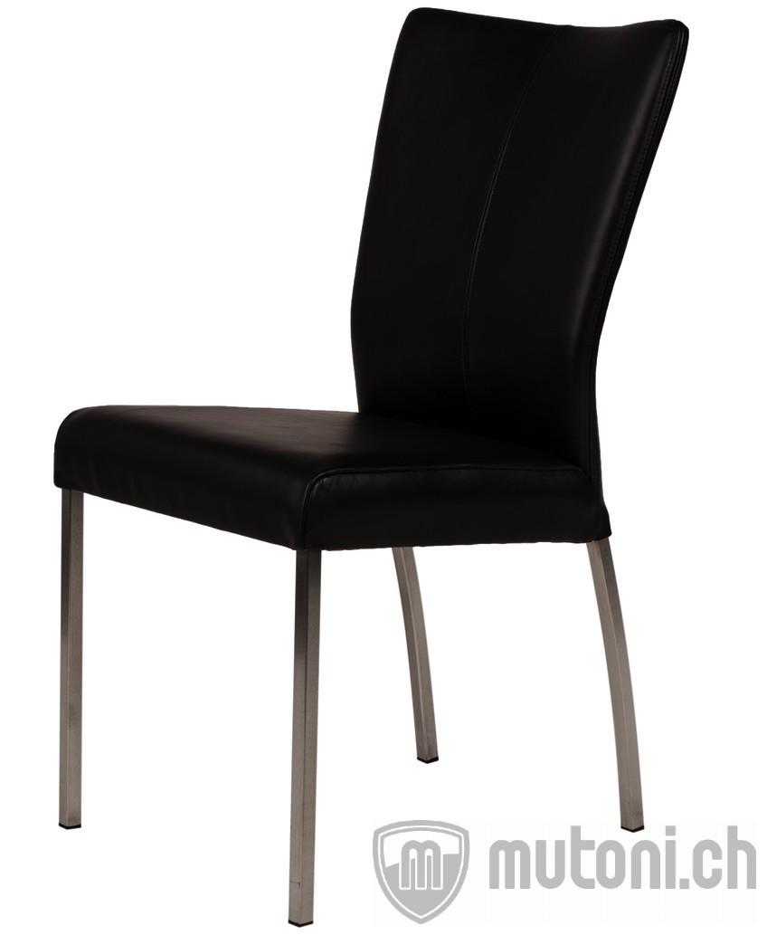 esszimmerstuhl comfort schwarz leder designst hle esszimmerst hle esszimmer m bel. Black Bedroom Furniture Sets. Home Design Ideas
