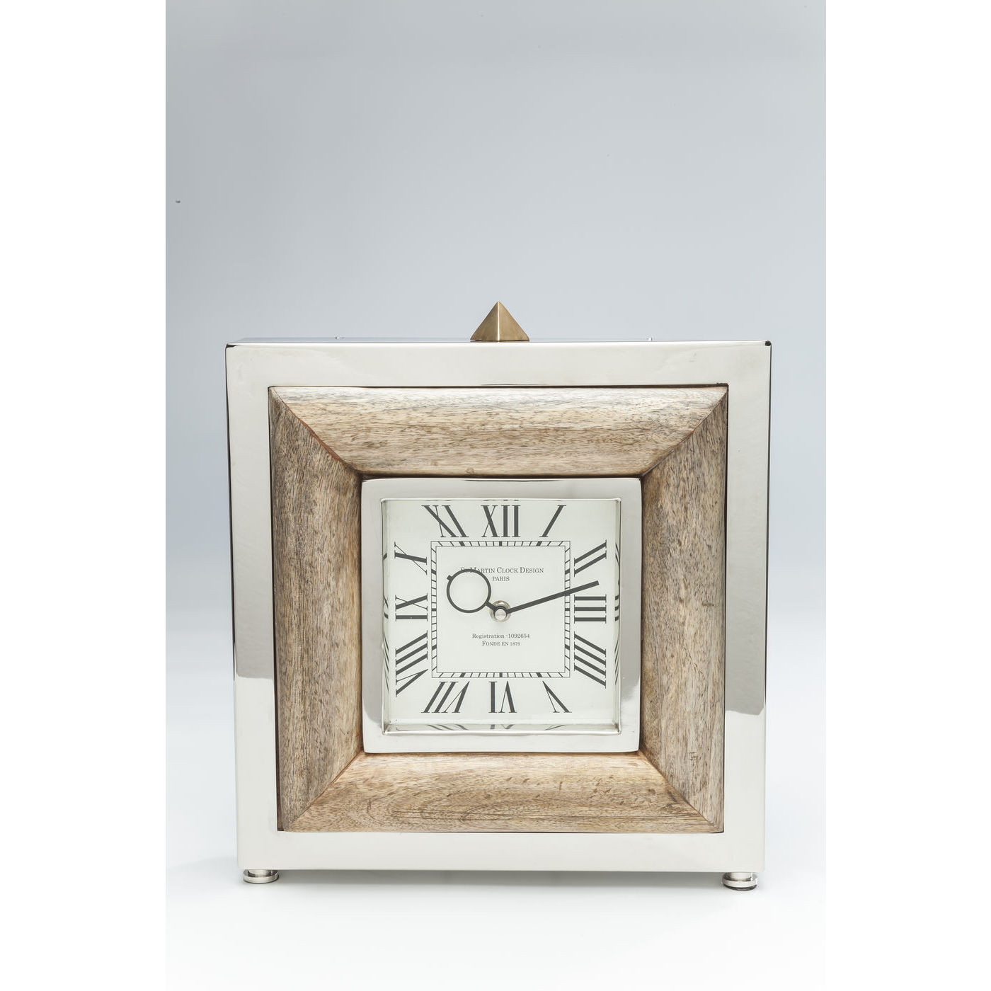 horloge poser st martin bois kare design mutoni m bel. Black Bedroom Furniture Sets. Home Design Ideas