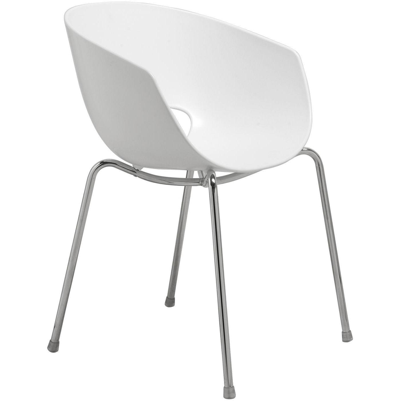 Stuhl Eggshell Weiß Designstühle Esszimmerstühle