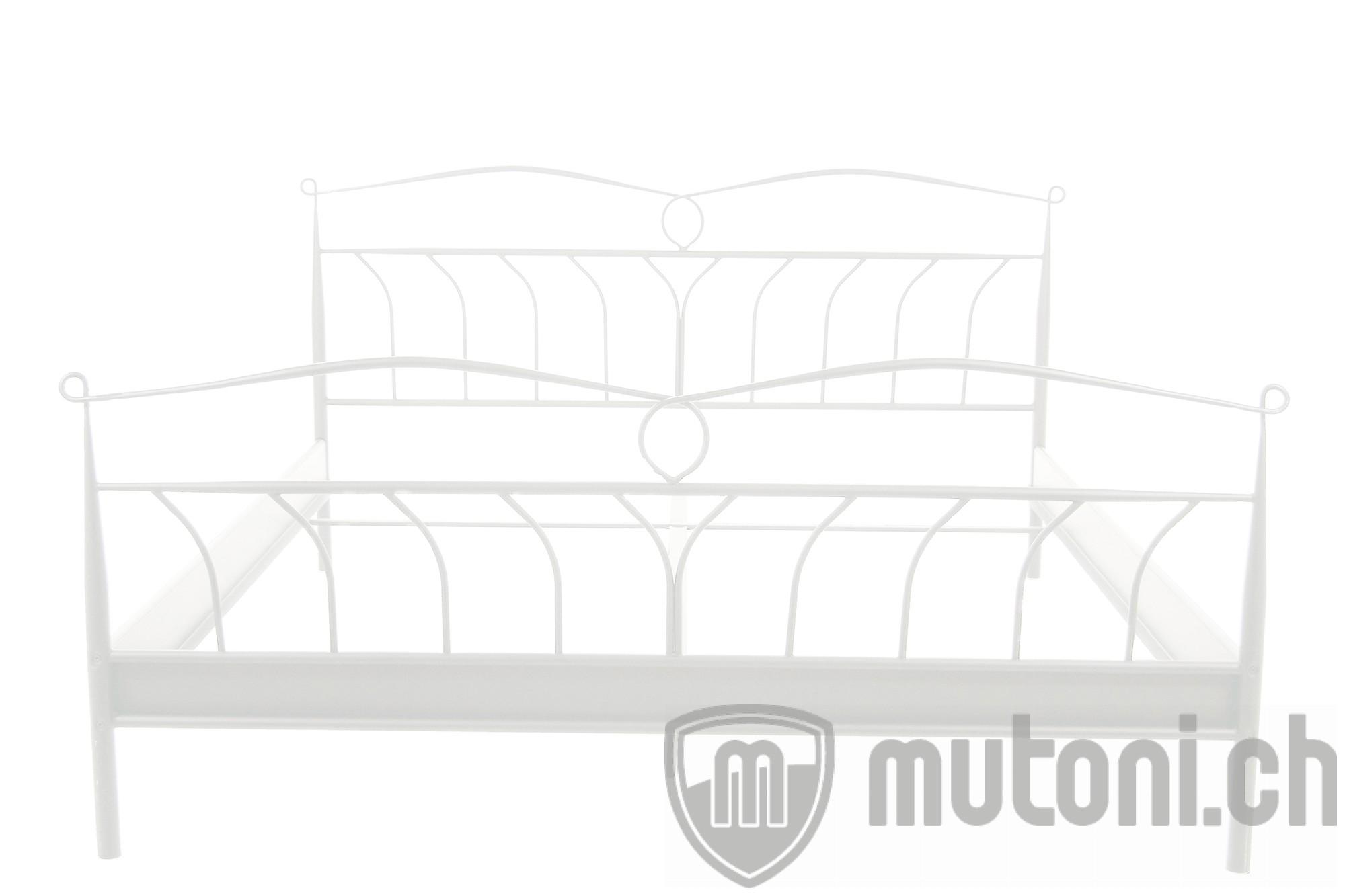 metallbett lumi weiss 140x200 mutoni design mutoni m bel. Black Bedroom Furniture Sets. Home Design Ideas