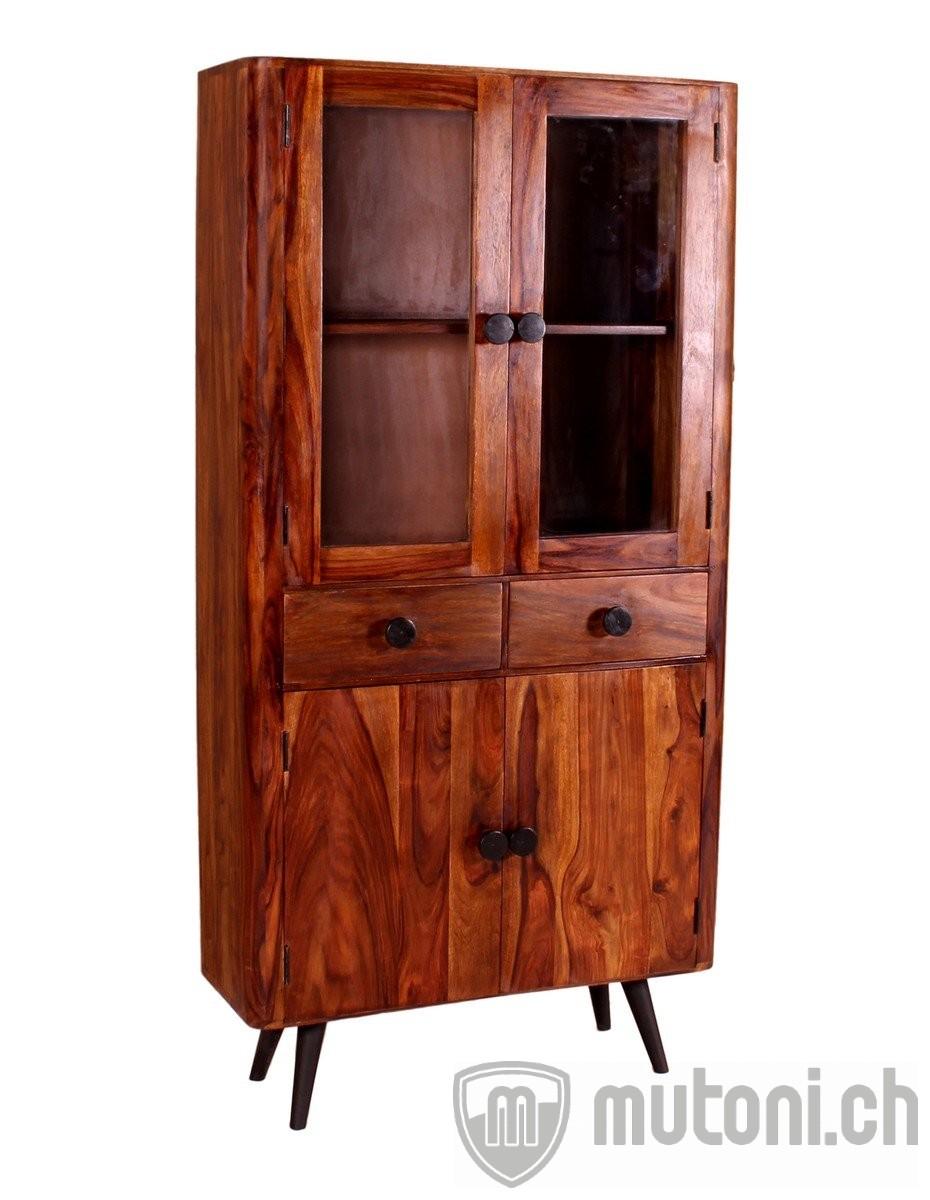 schrank vintage old style natur mutoni living mutoni m bel. Black Bedroom Furniture Sets. Home Design Ideas