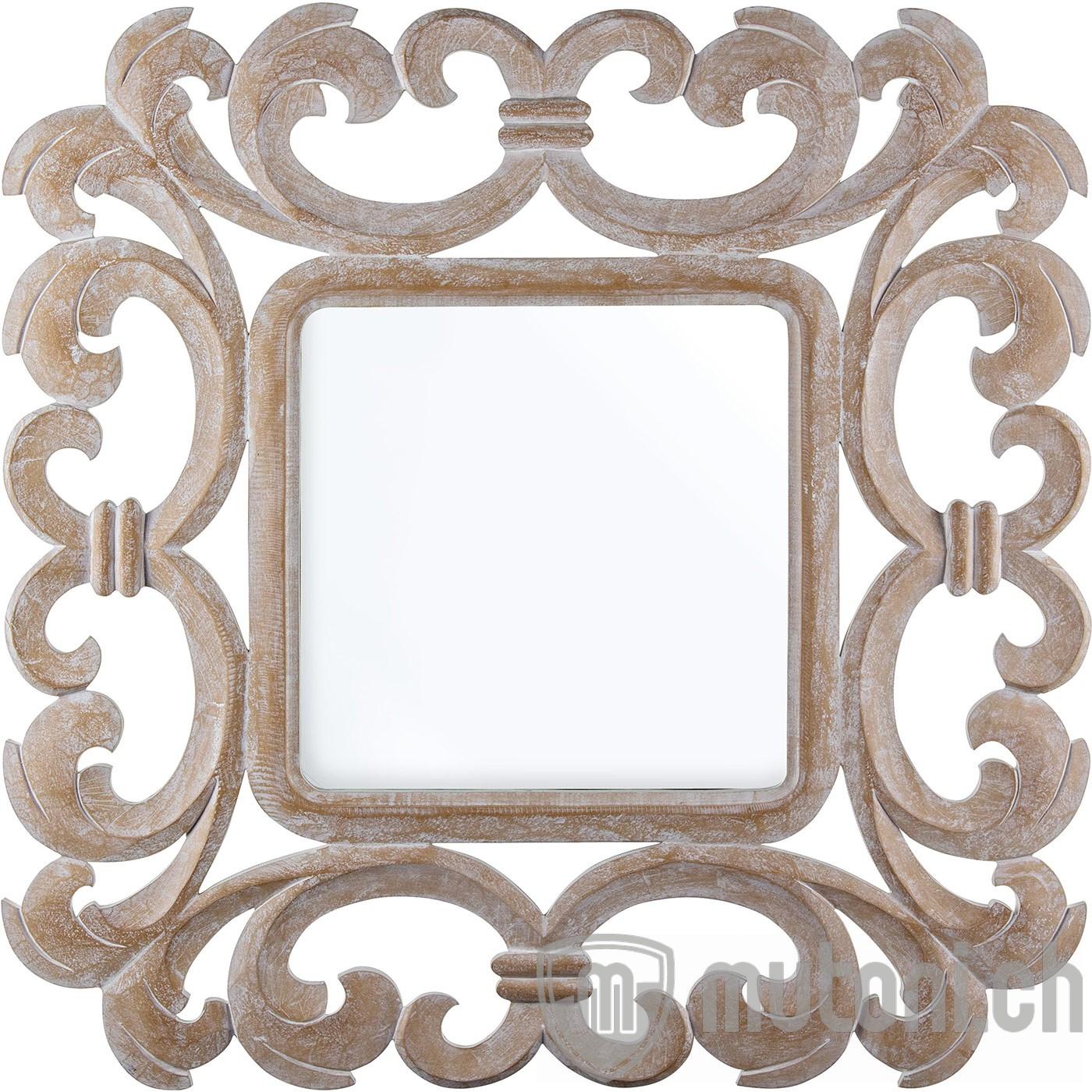 Miroir baroque 14 017 80x80 mutoni lifestyle mutoni m bel for Miroir 80x80