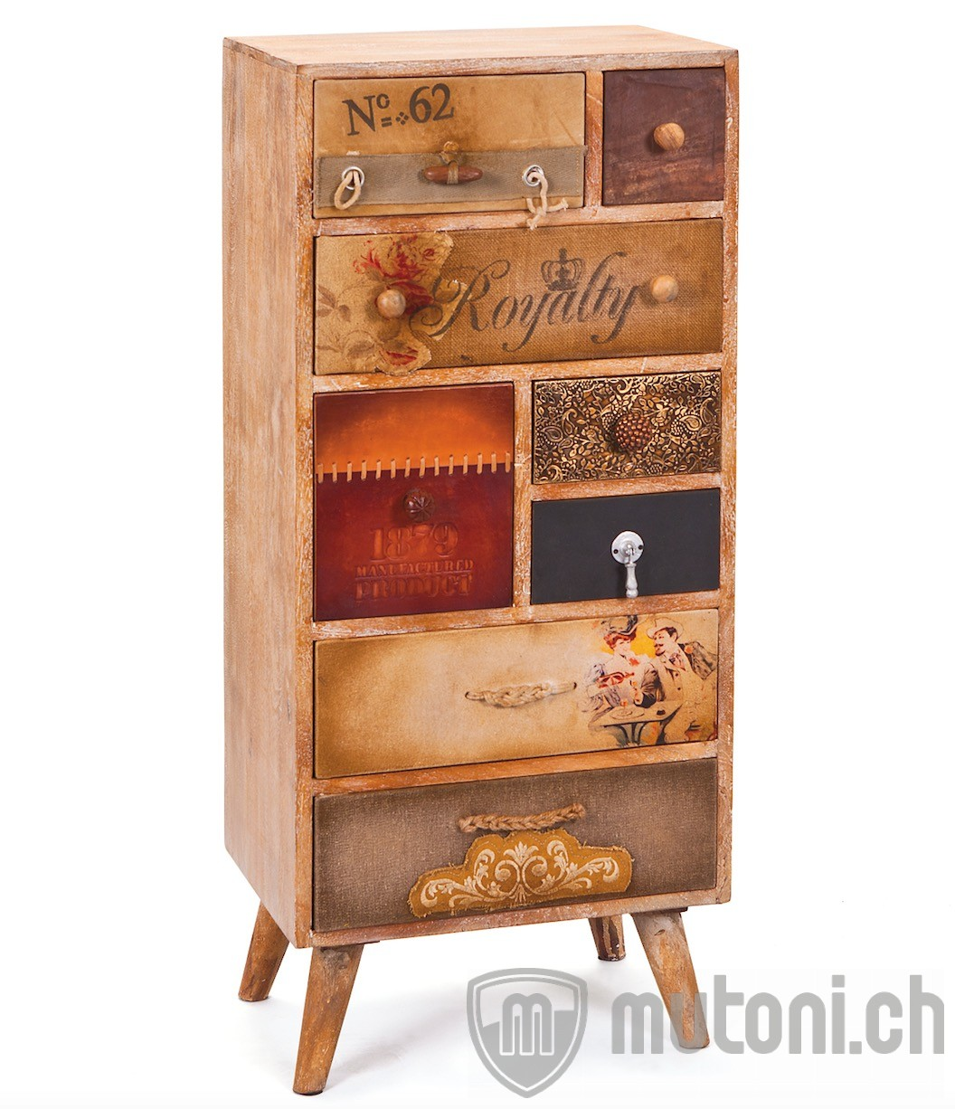 hochkommode old vintage 45x102 mutoni vintage mutoni m bel. Black Bedroom Furniture Sets. Home Design Ideas