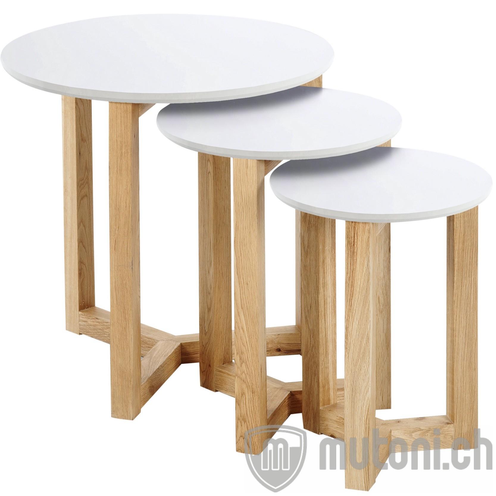 beistelltisch kyoto 3er set mutoni design mutoni m bel. Black Bedroom Furniture Sets. Home Design Ideas