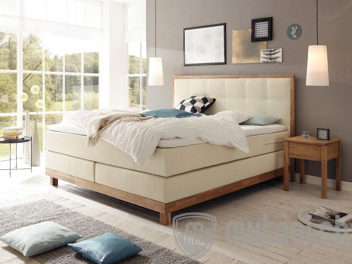 boxspring bett chalet verschiedene ausf hrungen hasena. Black Bedroom Furniture Sets. Home Design Ideas