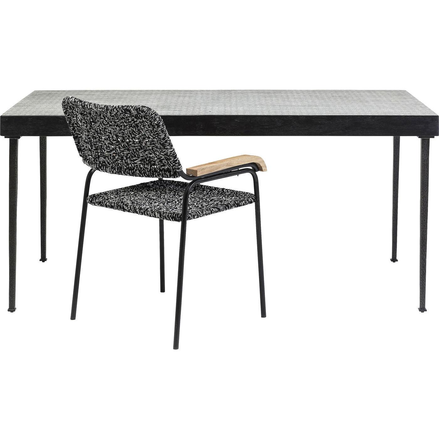 tisch thekla 160x80cm kare design mutoni m bel. Black Bedroom Furniture Sets. Home Design Ideas