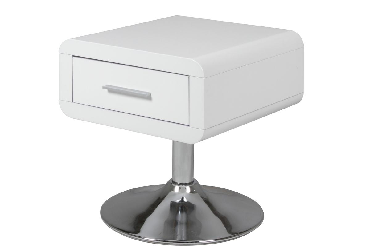 designer nachttisch aus glas top pure ow c nachttische. Black Bedroom Furniture Sets. Home Design Ideas