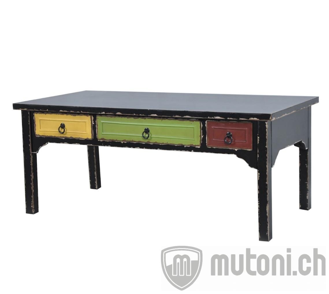 Couchtisch Rainbow 110×60 mit 6 Schubladen  mutoni design