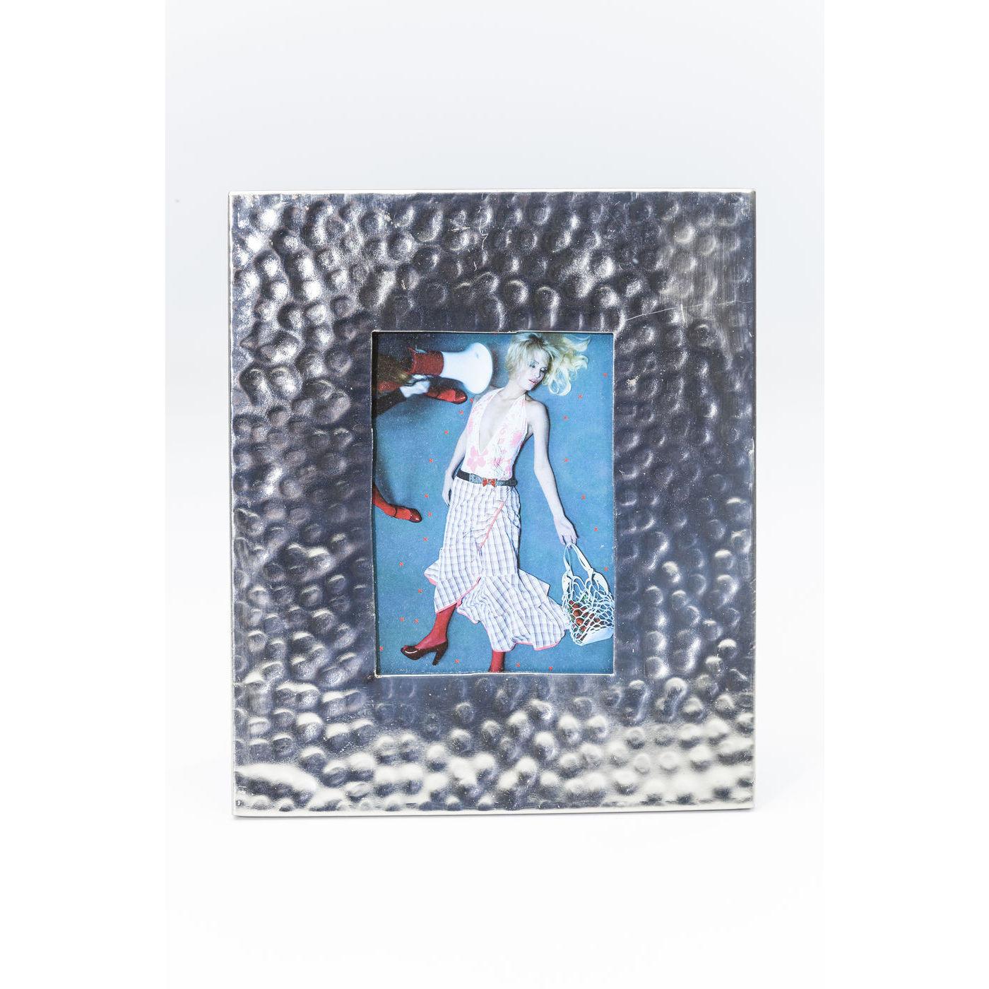 rahmen lunar silver 10x15cm kare design mutoni m bel. Black Bedroom Furniture Sets. Home Design Ideas