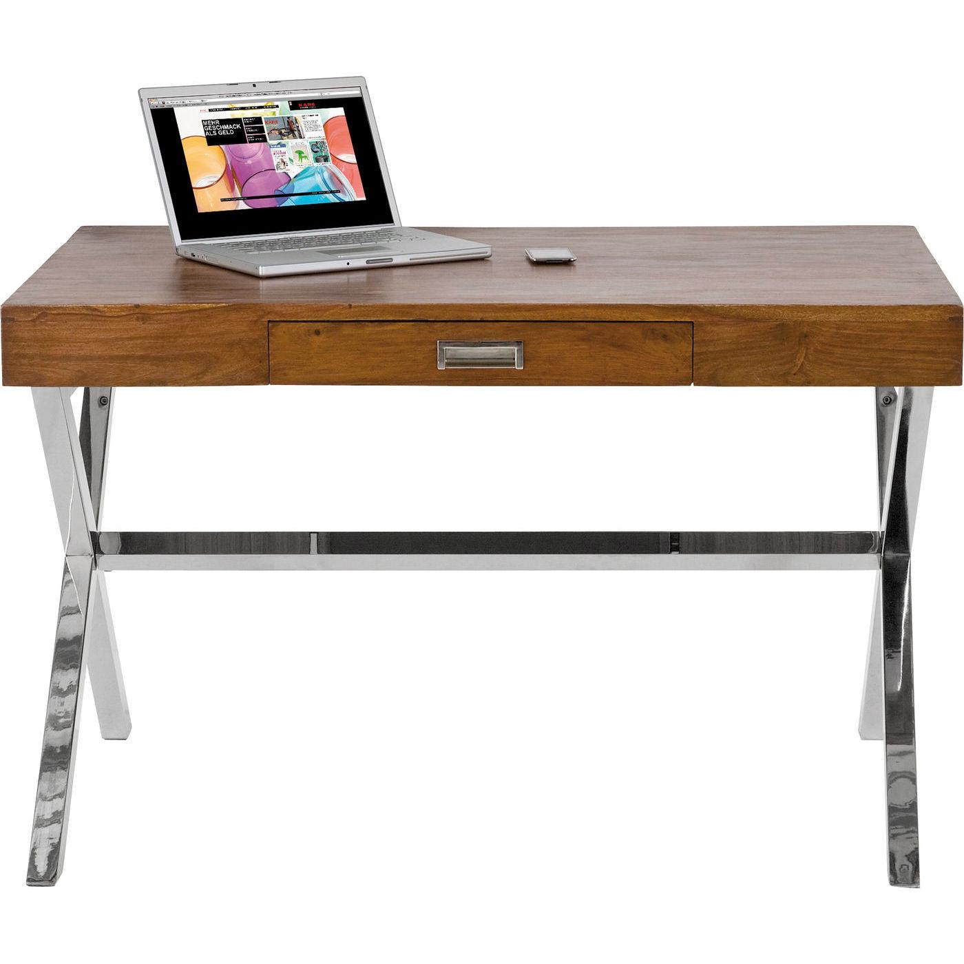 schreibtisch manhattan wood 120x75cm kare design. Black Bedroom Furniture Sets. Home Design Ideas