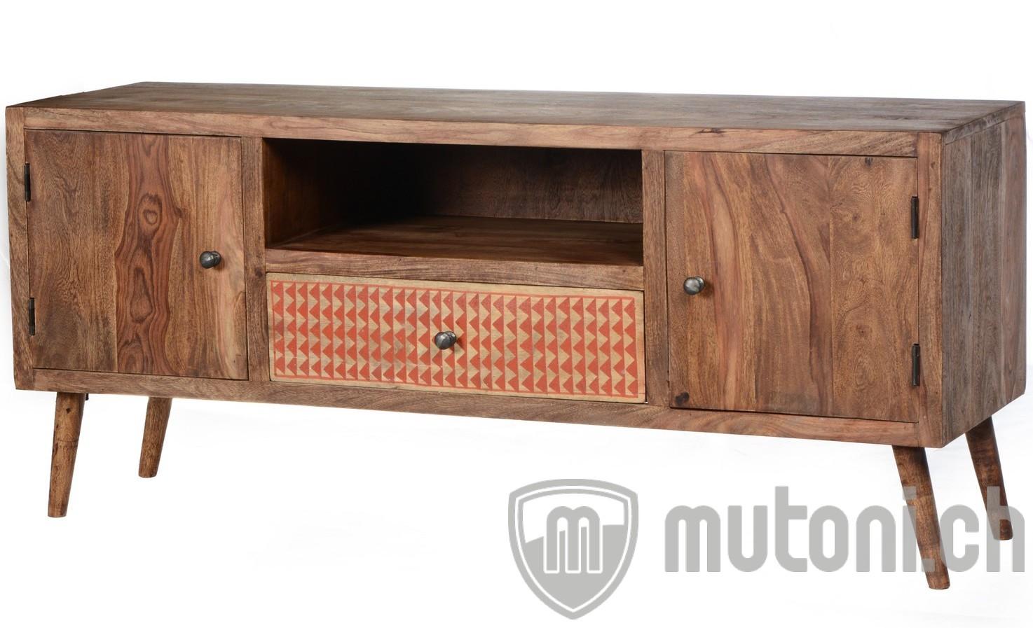 tv lowboard fresh retro vintage natur front bunt 120 mutoni living mutoni m bel. Black Bedroom Furniture Sets. Home Design Ideas