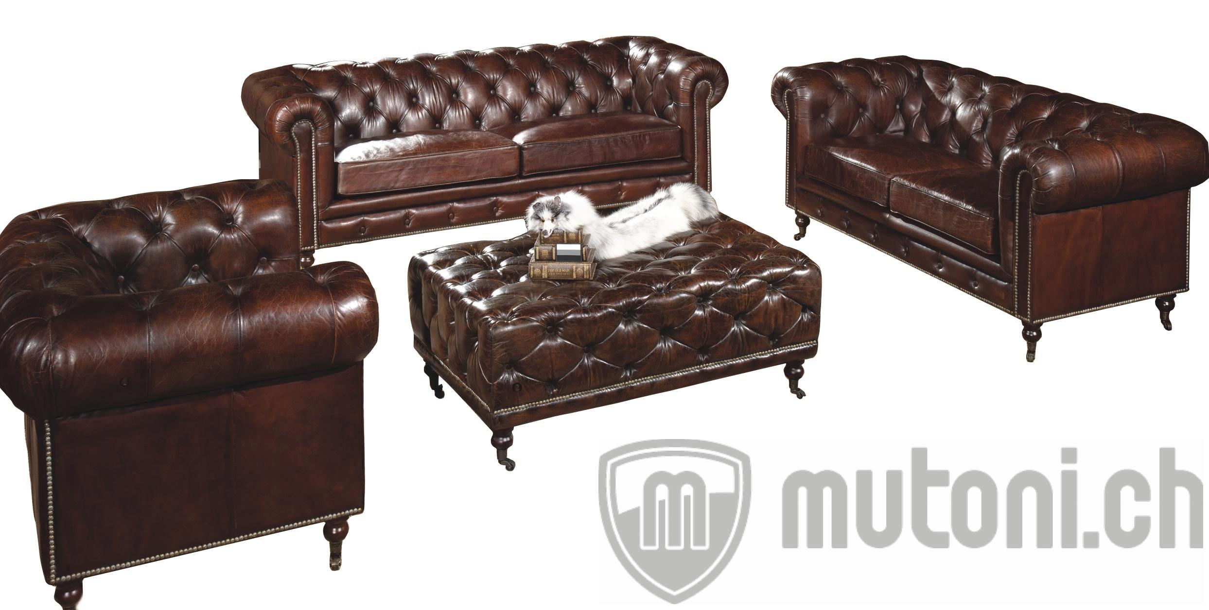 ensemble salon vintage chester lycius 3 pi ces canap s modulables canap s sofas salon. Black Bedroom Furniture Sets. Home Design Ideas