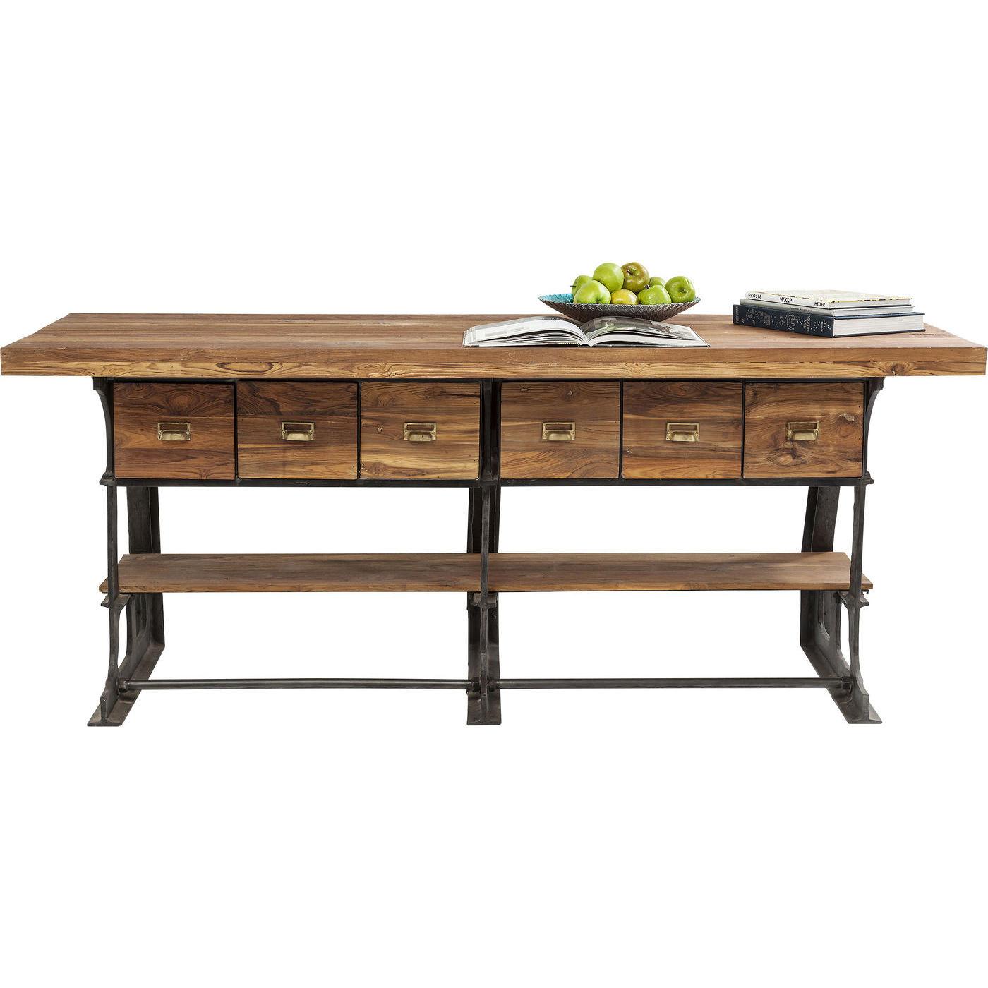 tisch showcase counter table kare design mutoni m bel. Black Bedroom Furniture Sets. Home Design Ideas