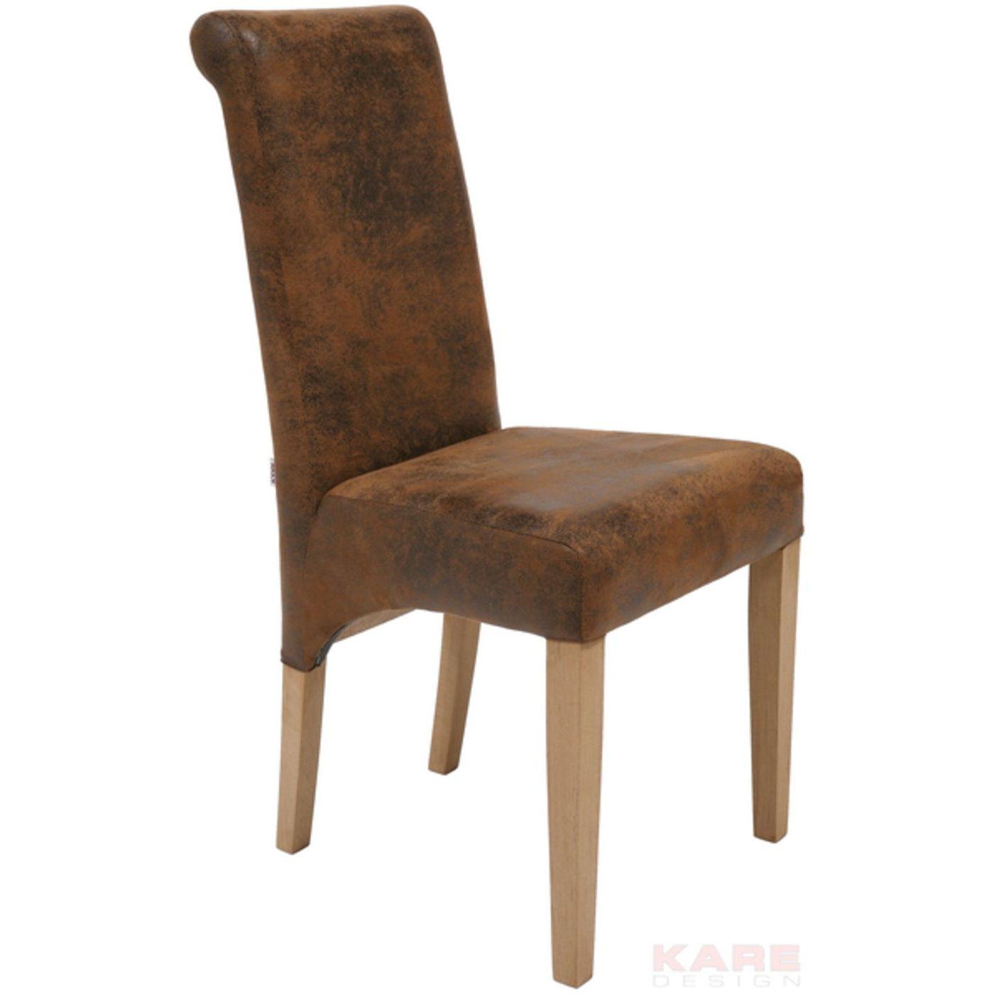 stuhl chiara teak vintage kare design mutoni m bel. Black Bedroom Furniture Sets. Home Design Ideas