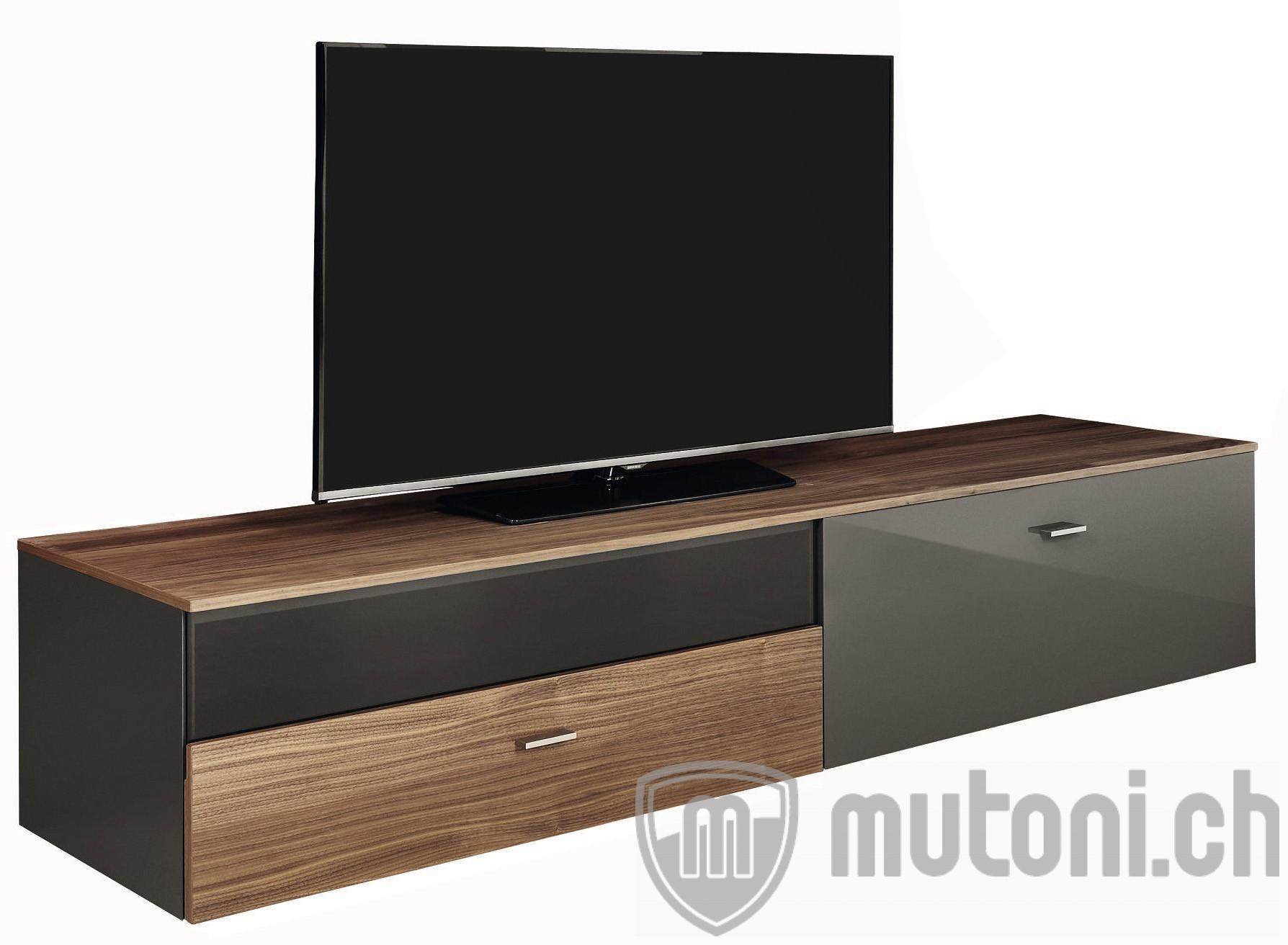 lowboard now links mit 1 schublade und 1 klappe 210x38cm h lsta mutoni m bel. Black Bedroom Furniture Sets. Home Design Ideas