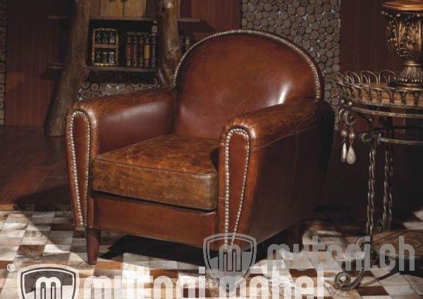 Sessel vintage leder boyle mutoni vintage mutoni m bel for Wohnzimmer sessel vintage