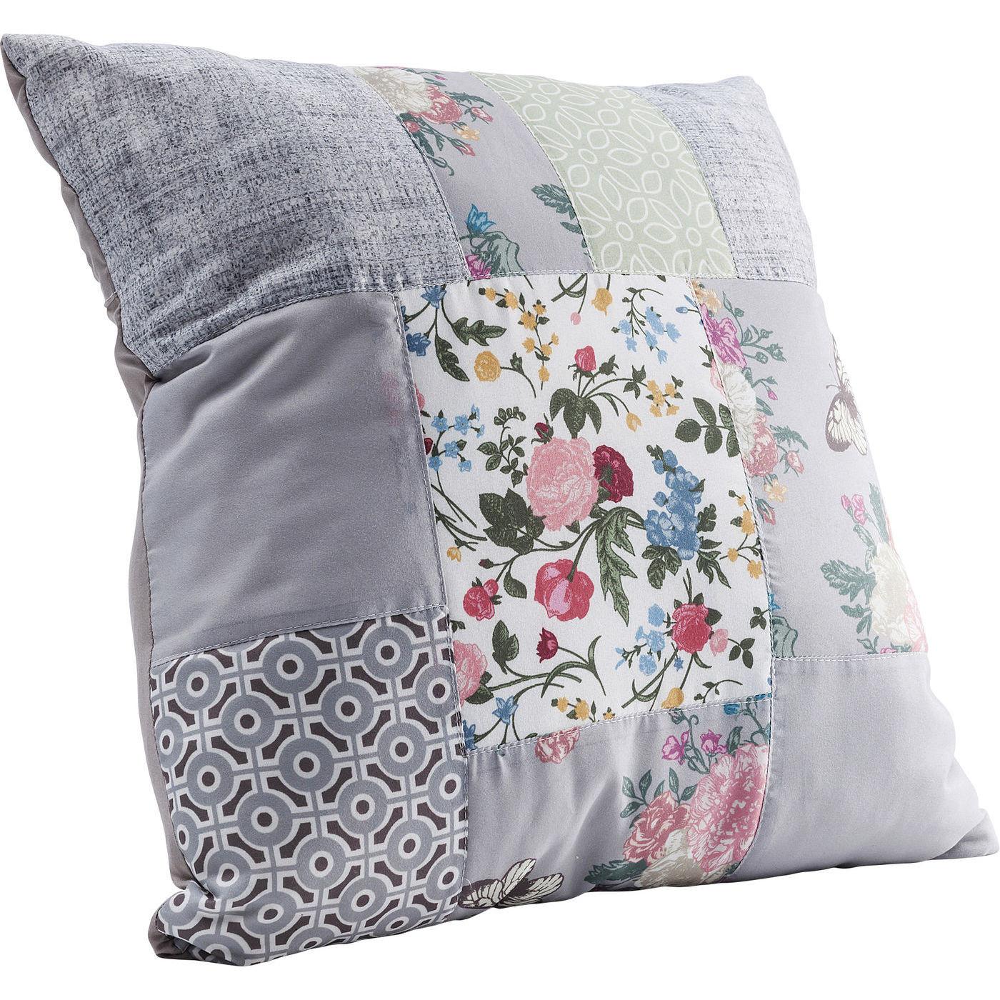 kissen patchwork powder 45x45cm kare design mutoni m bel. Black Bedroom Furniture Sets. Home Design Ideas