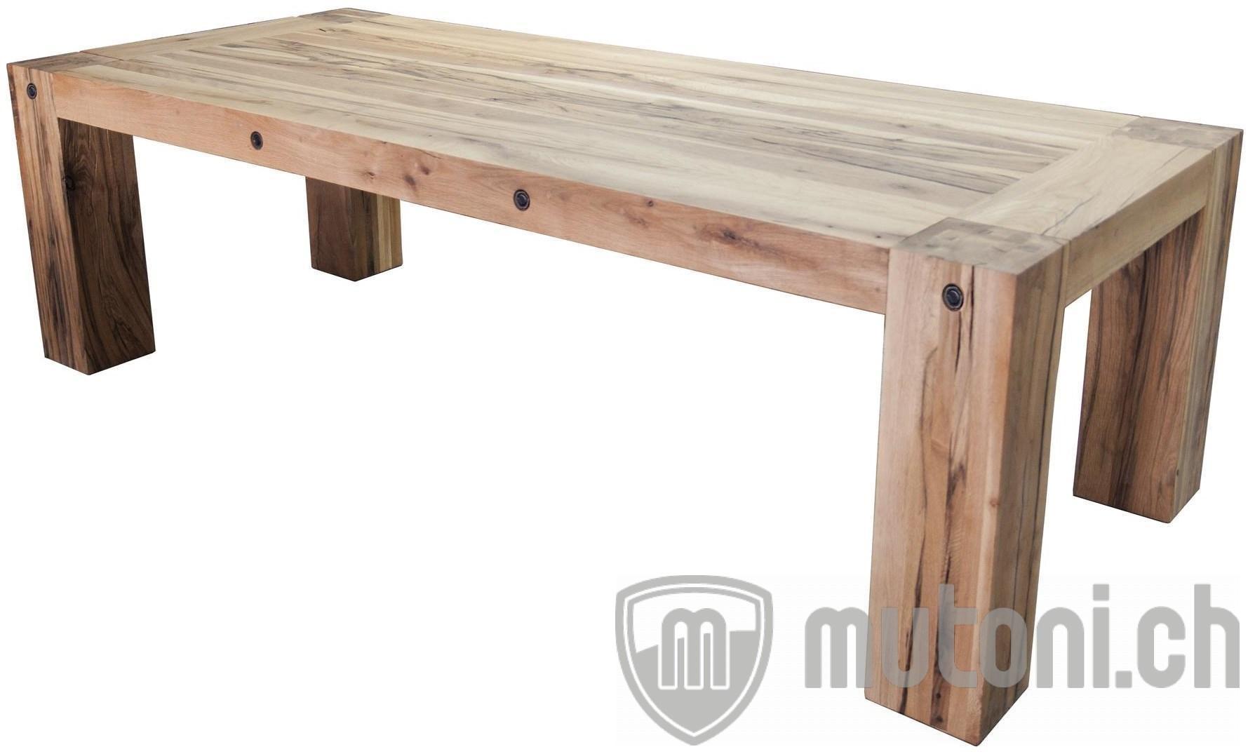 esstisch ontario eiche rustikal mutoni wood mutoni m bel. Black Bedroom Furniture Sets. Home Design Ideas
