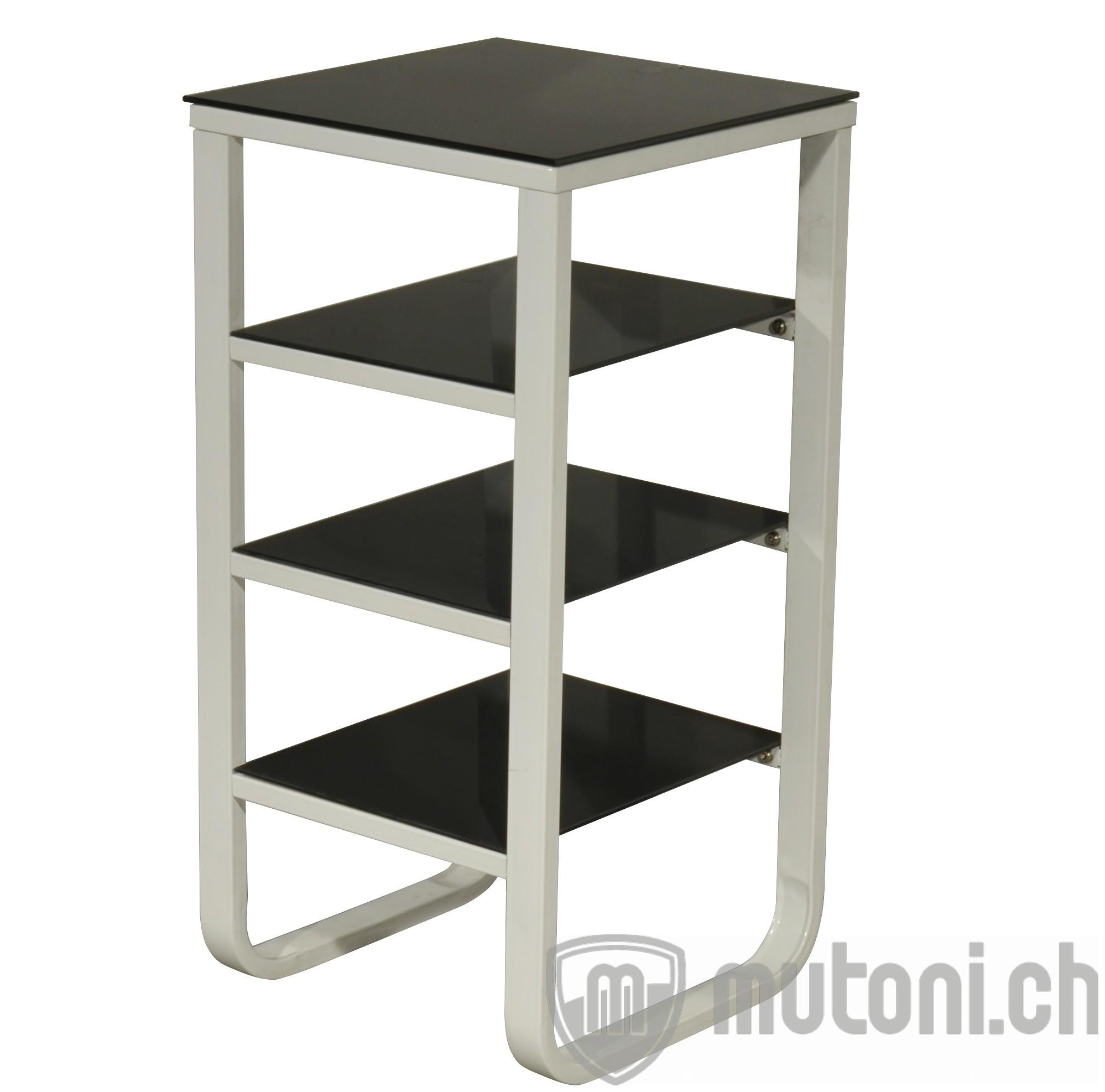 regal tempered 80cm beistellregale regale wohnzimmer m bel mutoni m bel. Black Bedroom Furniture Sets. Home Design Ideas