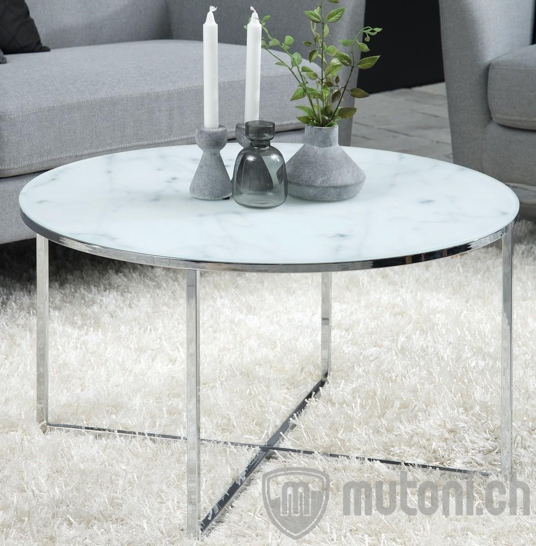 Couchtisch romandie rund 80x80 mutoni design mutoni m bel for Design couchtisch 80x80