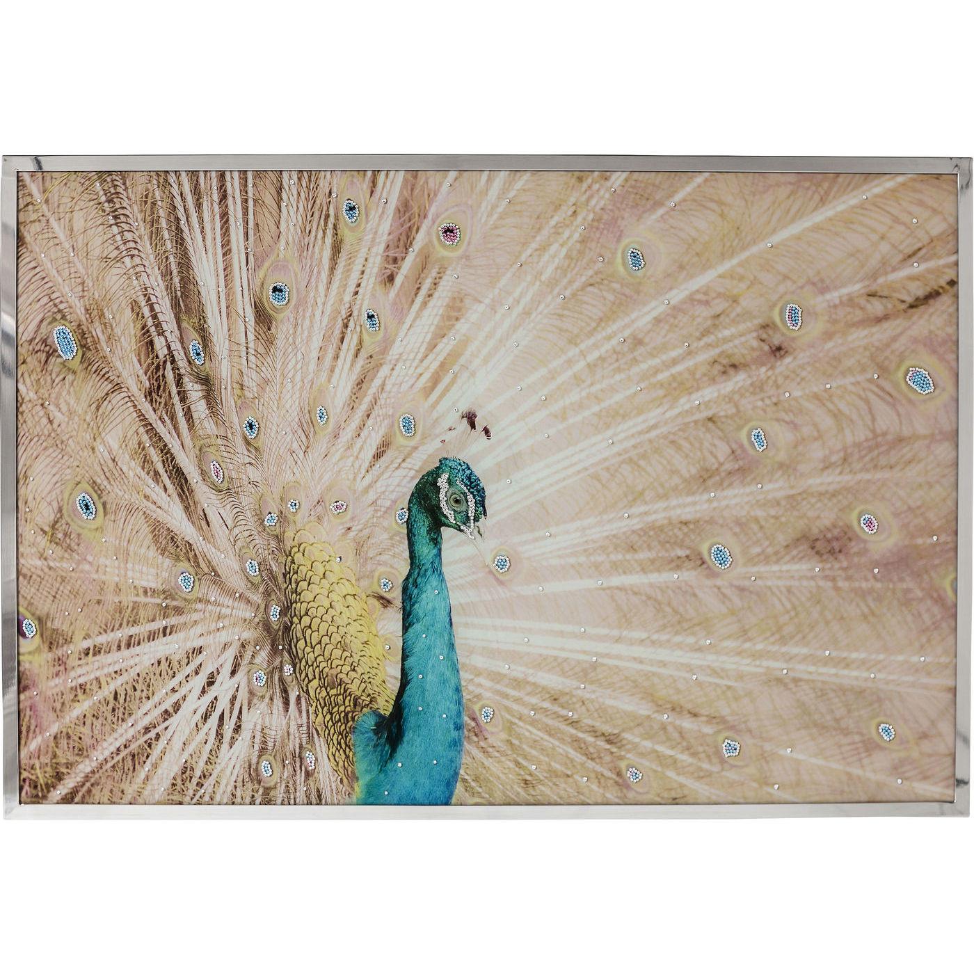 Wandschmuck peacock 114x78cm kare design mutoni m bel for Kare design schweiz