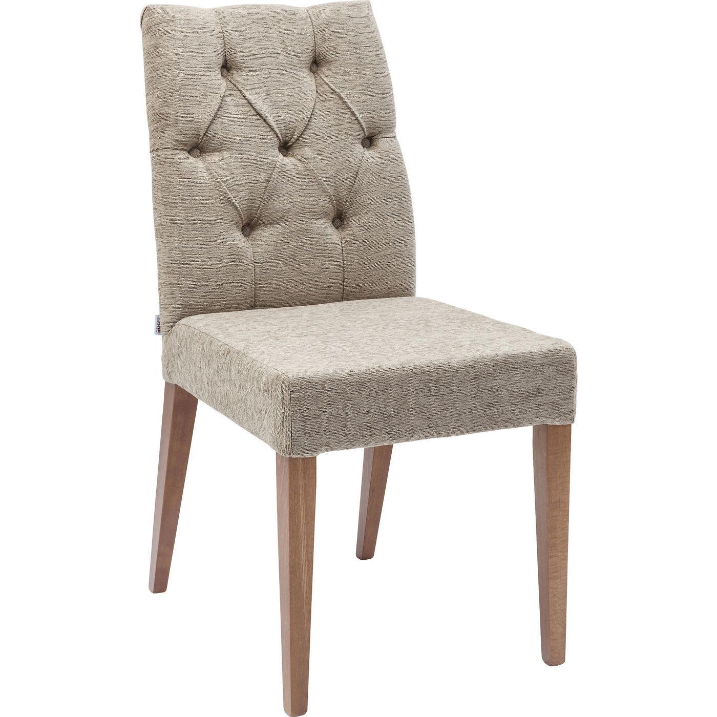 polsterstuhl casual buttons beige kare design mutoni m bel. Black Bedroom Furniture Sets. Home Design Ideas