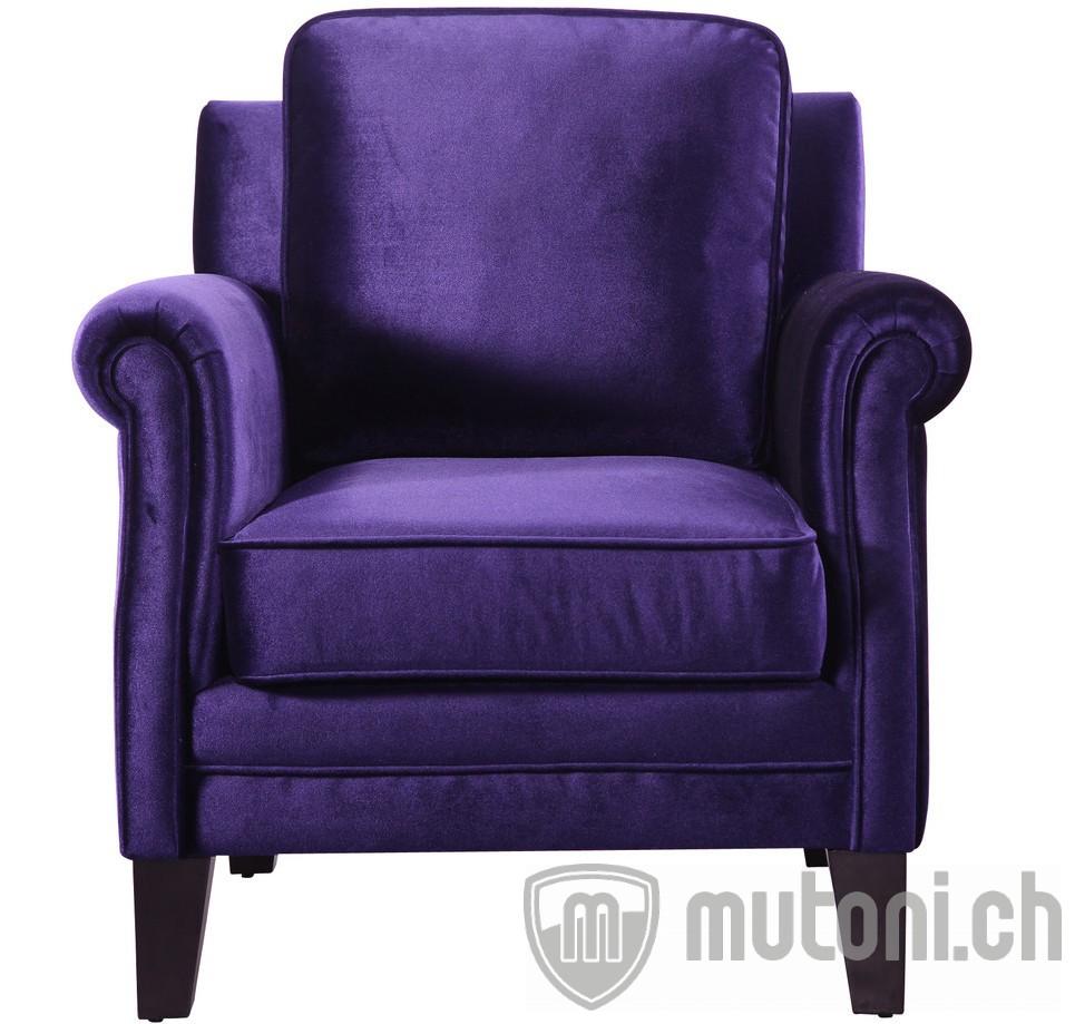 Sessel purple queen design sessel sessel wohnzimmer for Mobel sessel design