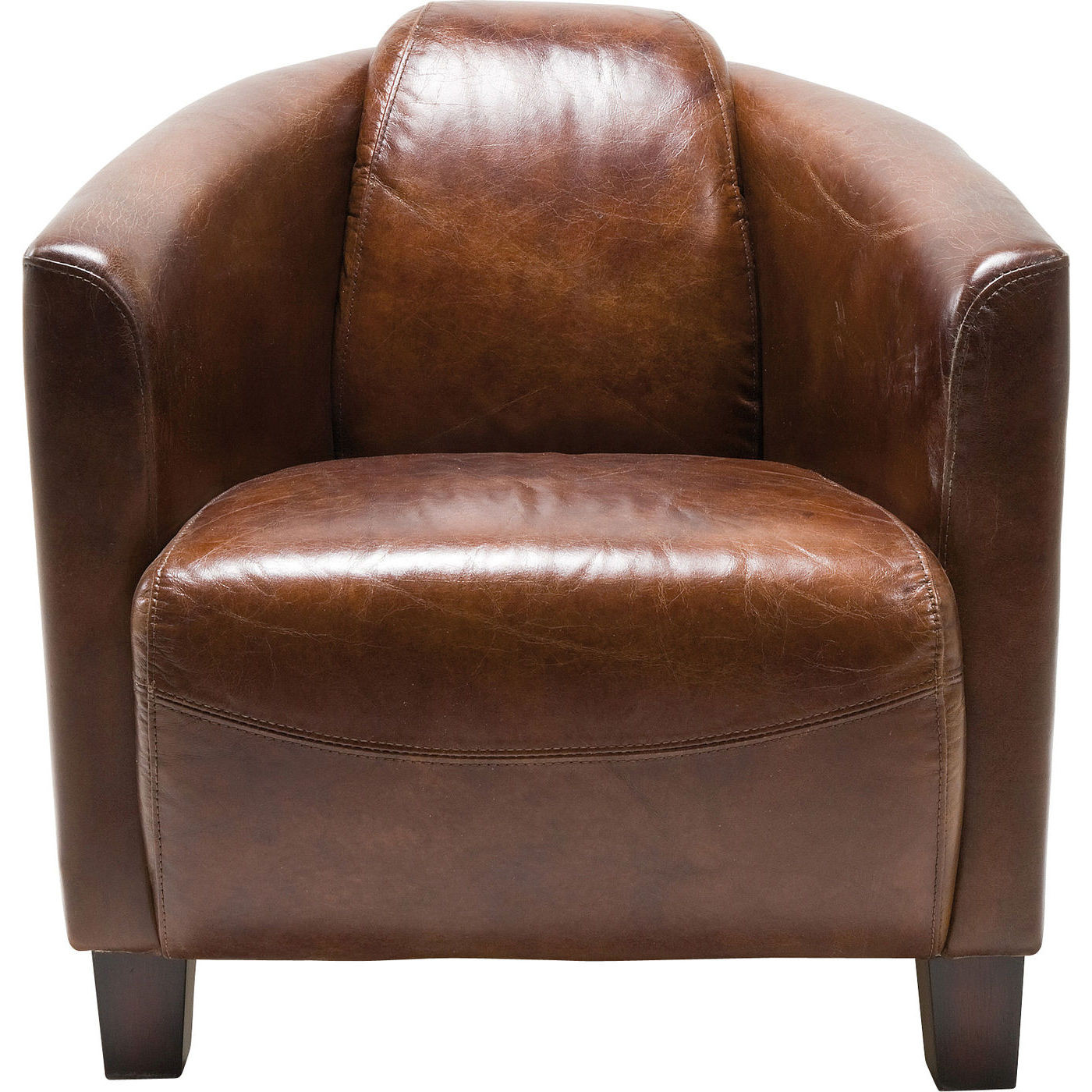 Sessel cigar lounge brown design sessel sessel for Sessel wohnzimmer