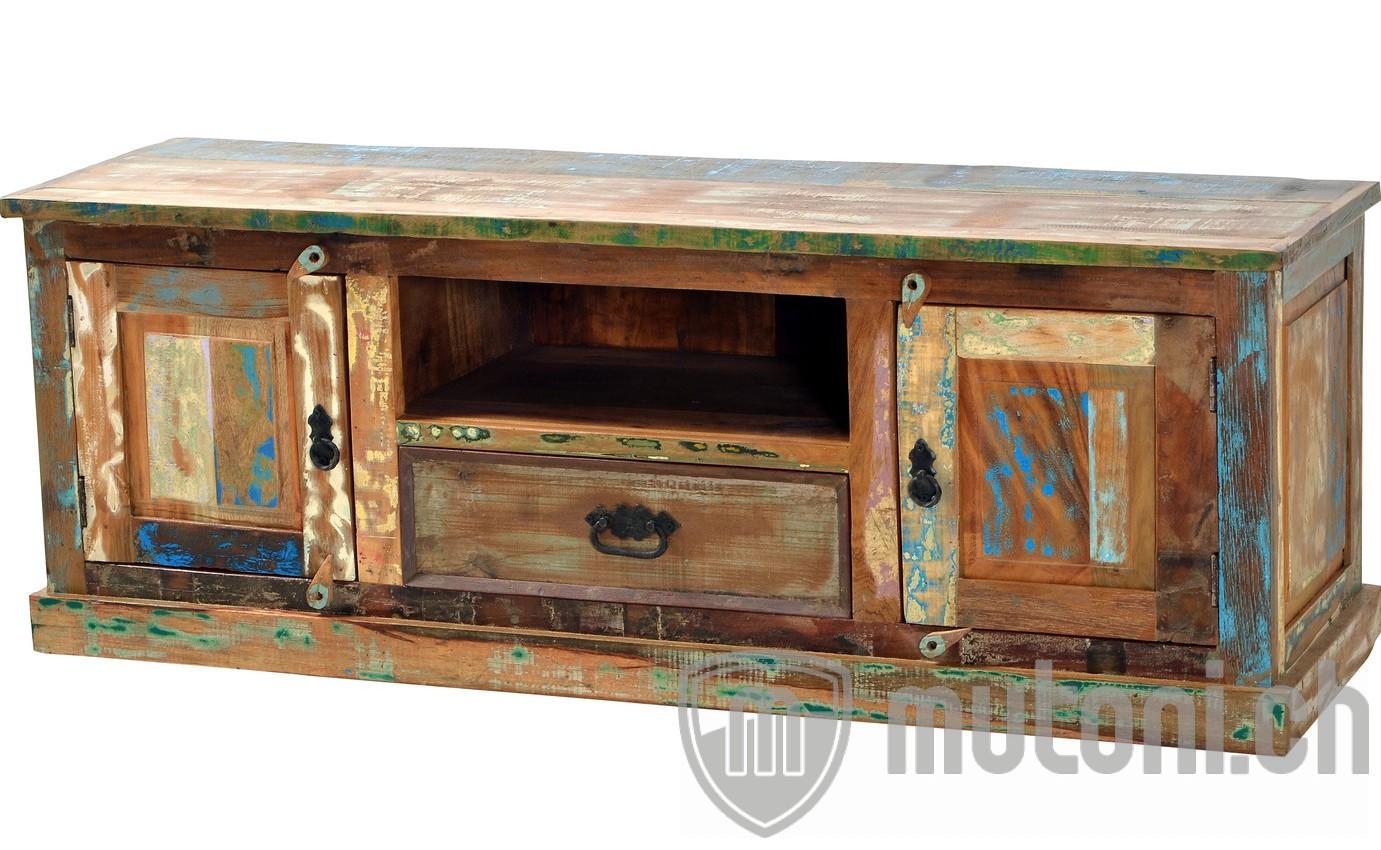 tv lowboard vintage colored agra bunt 140 mutoni living mutoni m bel. Black Bedroom Furniture Sets. Home Design Ideas