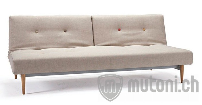 Bettsofa Fiftynine Helles Holz Stoff Beige By Istyle Bettsofas