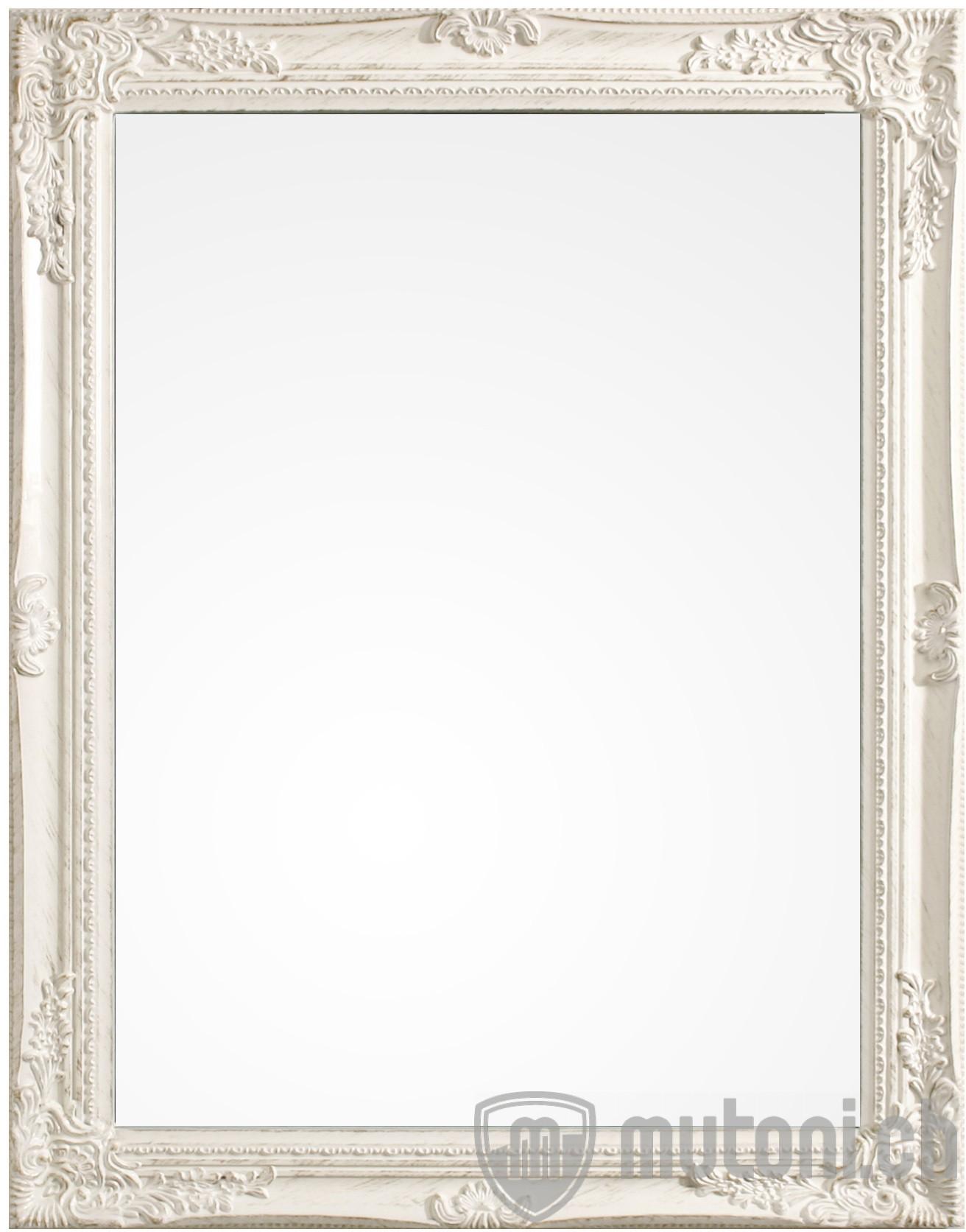 spiegel miro mit rahmen weiss 62x82 wandspiegel spiegel accessoires mutoni m bel. Black Bedroom Furniture Sets. Home Design Ideas