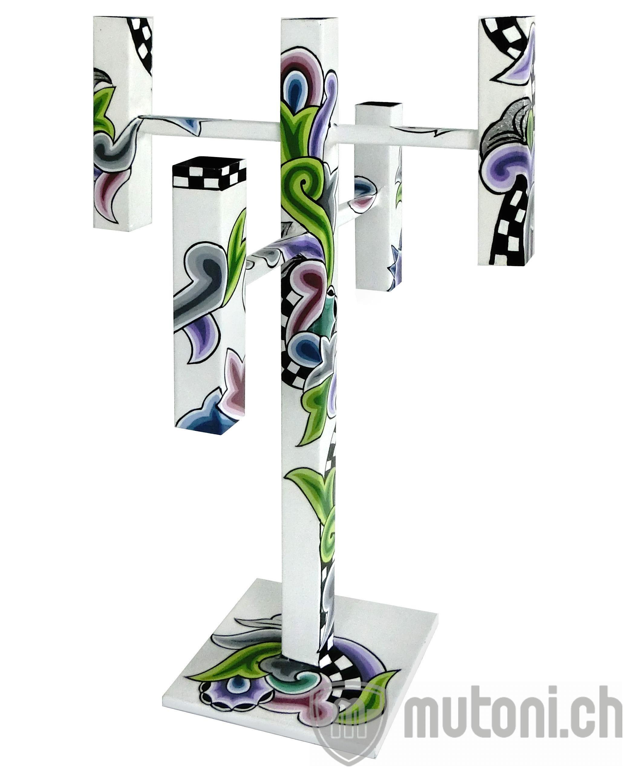 toms drag kerzenleuchter f r 5 kerzen silver line kerzenst nder halter kerzen. Black Bedroom Furniture Sets. Home Design Ideas