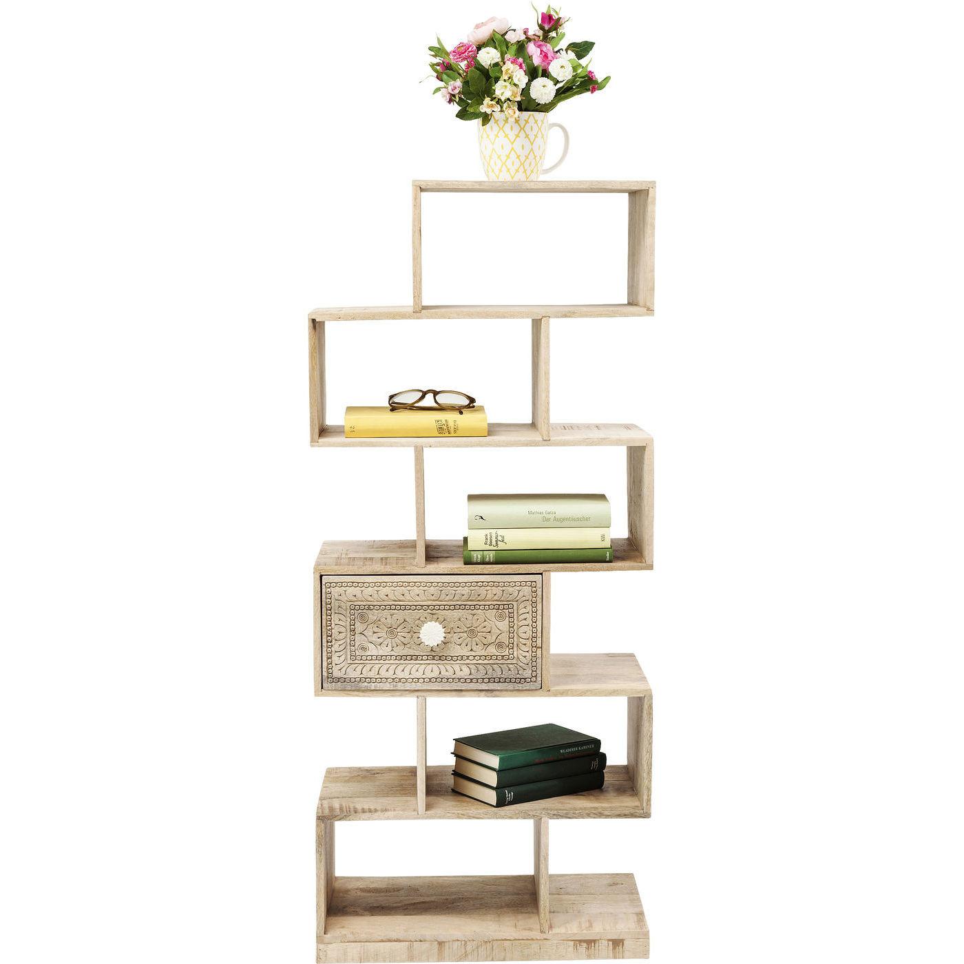 regal puro zick zack kare design mutoni m bel. Black Bedroom Furniture Sets. Home Design Ideas