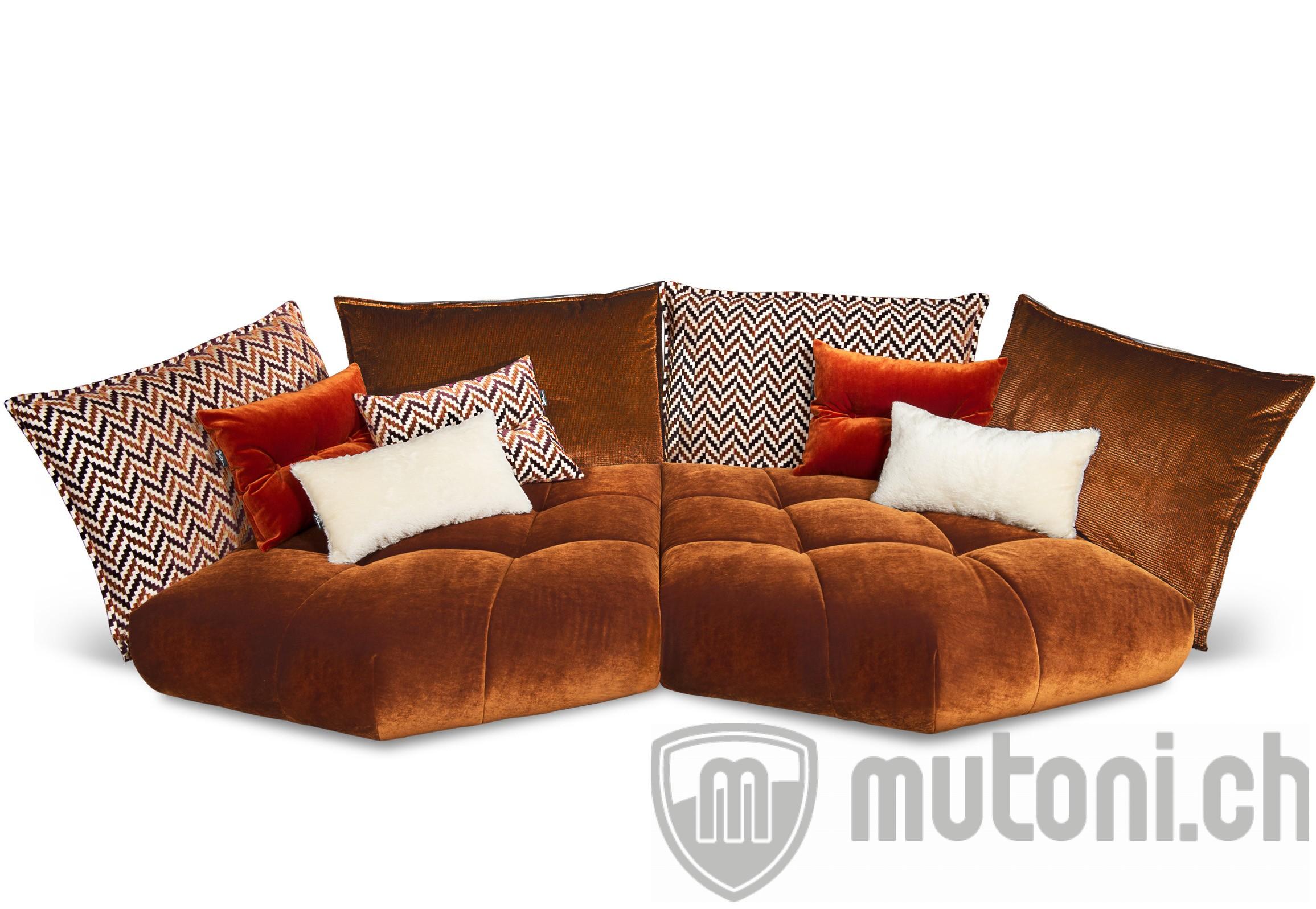 Sofa Matilda 363x166cm rehbraun