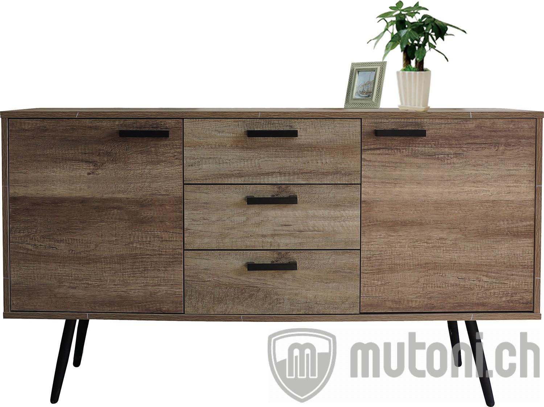 sideboard scandi retro 150cm mutoni living mutoni m bel. Black Bedroom Furniture Sets. Home Design Ideas