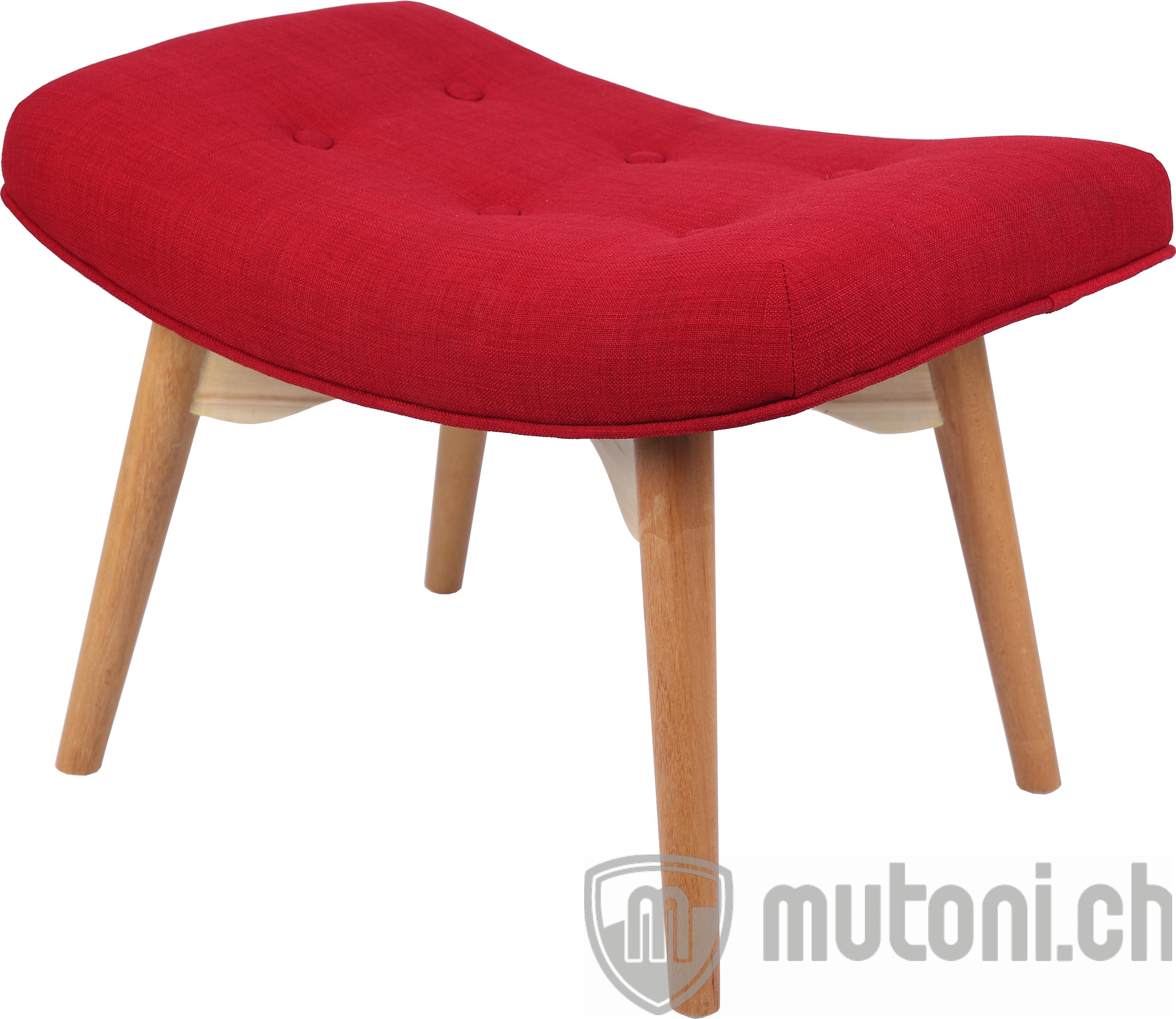 hocker fly rot mutoni design mutoni m bel. Black Bedroom Furniture Sets. Home Design Ideas