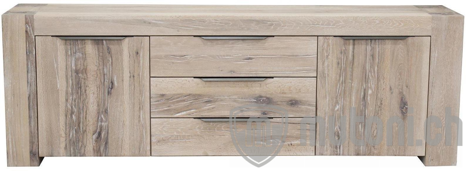 sideboard wyoming eiche rustikal mutoni wood mutoni. Black Bedroom Furniture Sets. Home Design Ideas