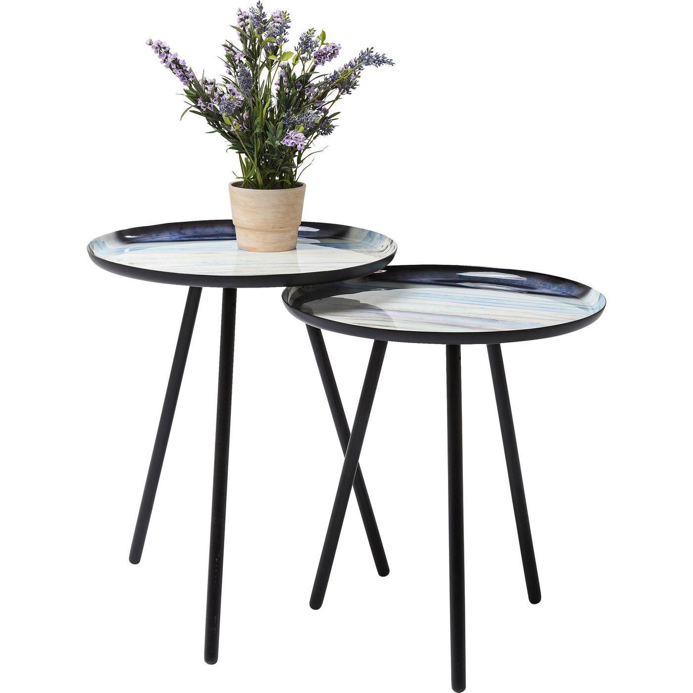beistelltisch mancha 40cm 2 set kare design mutoni m bel. Black Bedroom Furniture Sets. Home Design Ideas
